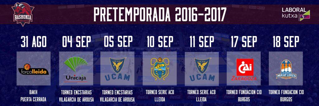 af6894295a0b El equipo azulgrana ya conoce el calendario de pretemporada 2016-17, que  arrancará el próximo día 22. En los días previos llegarán los jugadores  baskonistas ...