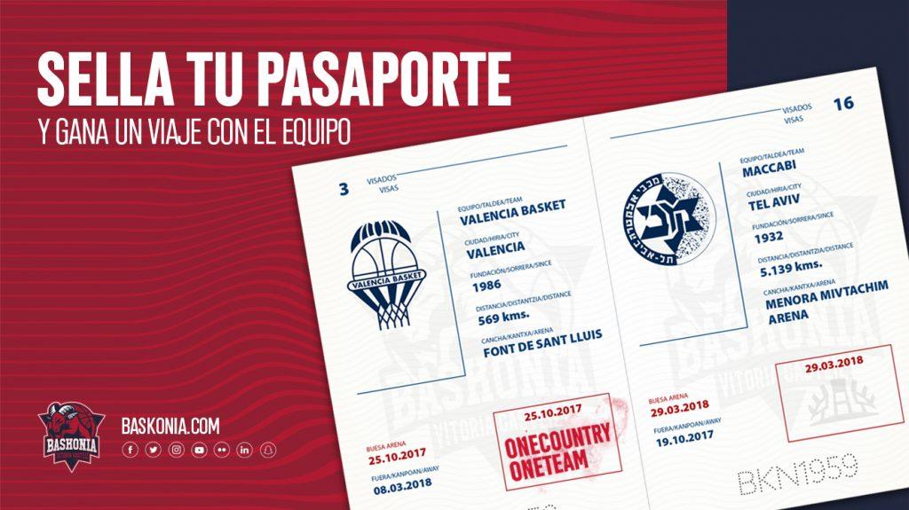 Tu pasaporte baskonista te lleva por Europa con el equipo! - Saski ...