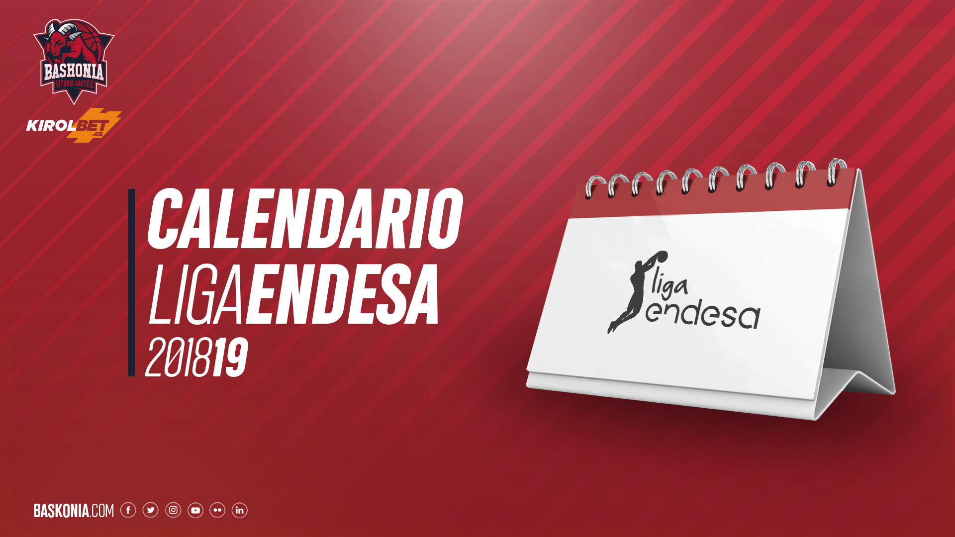 Calendario Tecnyconta.Calendario 2018 2019 De La Liga Endesa Saski Baskonia